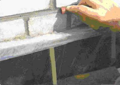 Применить для растирки кусок эластичного шланга