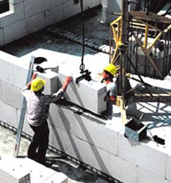 Строительство из пористого бетона